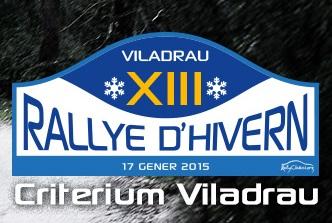 (Español) RALLYE D'HIVERN, ARRANCA EL 2015
