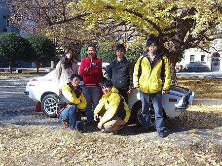KENJIRO SHINOZUKA IN THE RALLY COSTA BRAVA FIA