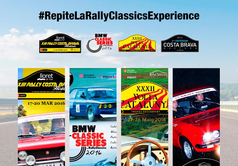 #RepiteLaRallyClassicsExperience