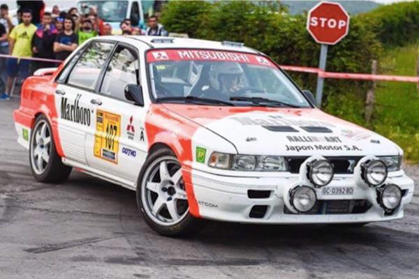 El Mitsubishi de Ricardo Avero, nuevo Legend con Juan Navarro