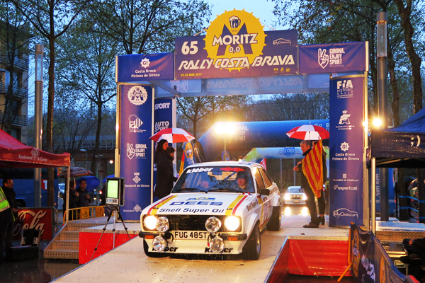 Arranca el 65 Rally Moritz Costa Brava, con récord de participación