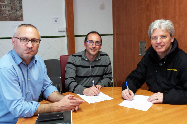 The municipality of Palamós and the Costa Brava Historic rally sign agreement