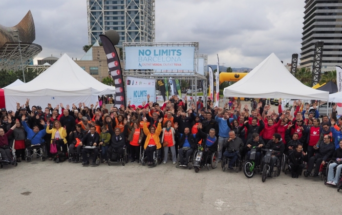 The enrolment for the NO LIMITS BARCELONA are now open