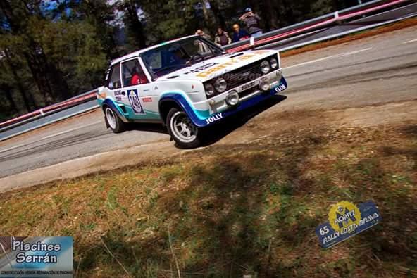 Zanussi, en el 66 Rally Moritz Costa Brava