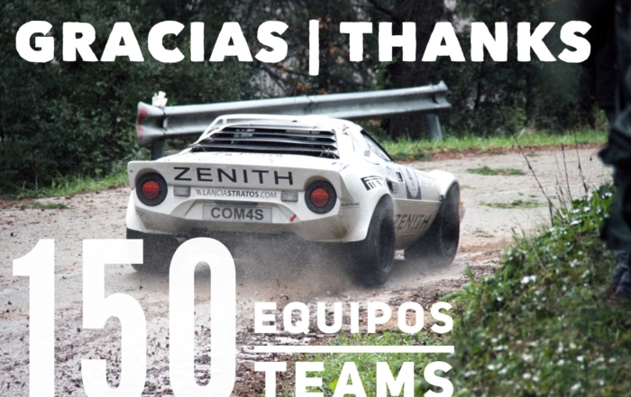 150 teams in the Rally Moritz Costa Brava