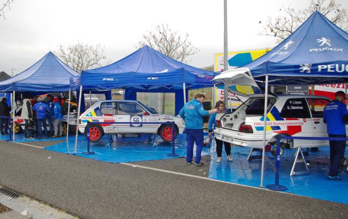 UCAV Racing Team in the oldest rally in Spain
