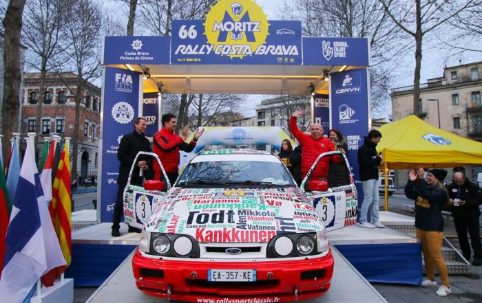 Serge Cazaux-Maxime Vilmot (Ford) ganan el 66 Rally Moritz Costa Brava