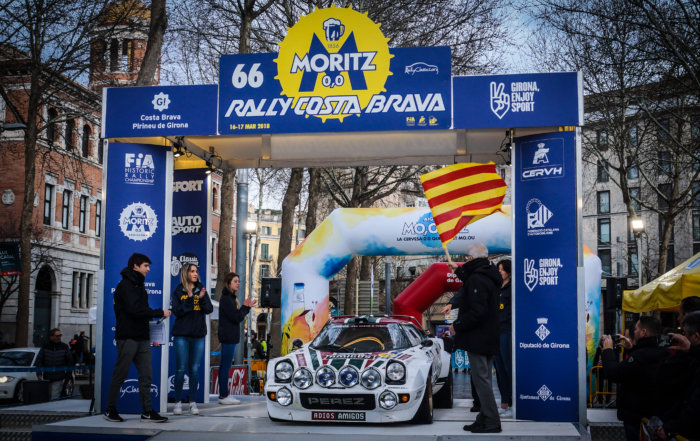 The show continues in Girona with the 2nd Stage of the Oldest Rally in Spain