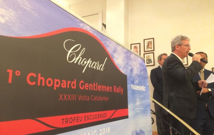 Presentación de excelencia del Chopard Gentlemen Rally
