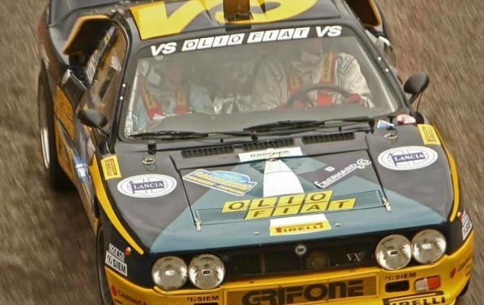 6 Lancia Rally 037 at the Rally Moritz Costa Brava