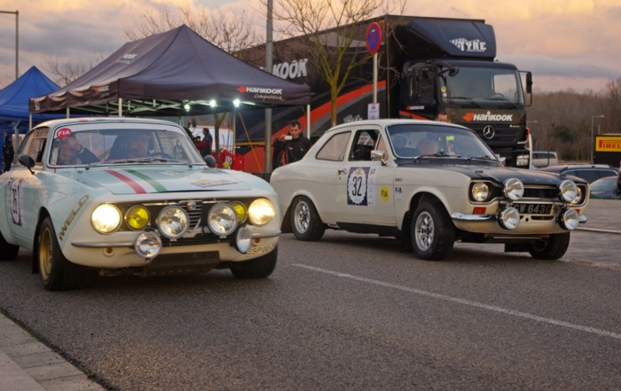 Record of foreigners in the Rally Moritz Costa Brava