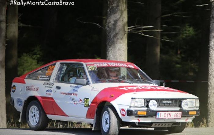 Eric Dijkstra and Mathieu Kenzeler at the 67 Rally Moritz Costa Brava