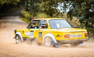 Jose Luis Perez-Enrique Villaverde en el Rally Moritz Costa Brava