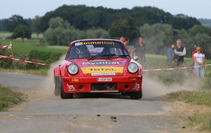 Carlo Mylle-Oliver Laporte, un equipo belga en el Rally Moritz Costa Brava
