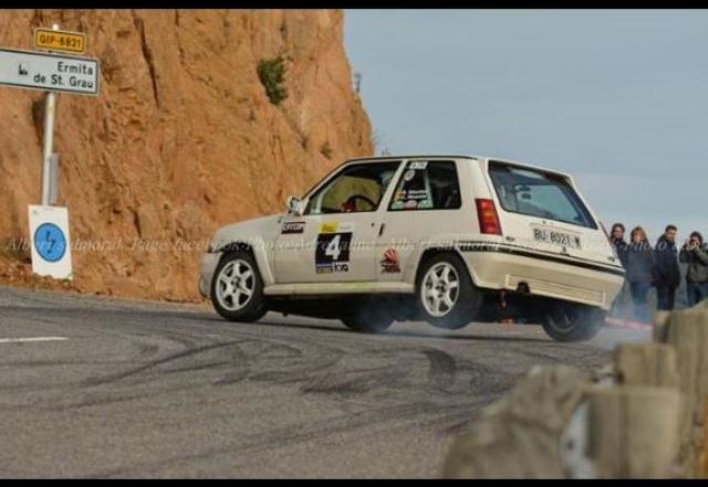 Dos Renault 5GT Turbo junts en el Rally Moritz Costa Brava