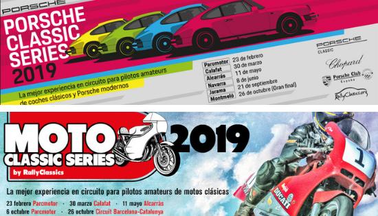 Se abren inscripciones para las Porsche Classic Series y las MotoClassic Series