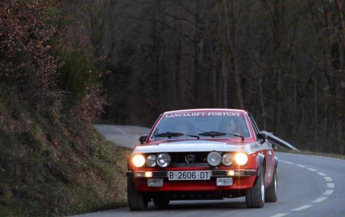 Fortuny-Jiménez, Señores de Viladrau, tras su 5ª victoria en el Rallye d'Hivern