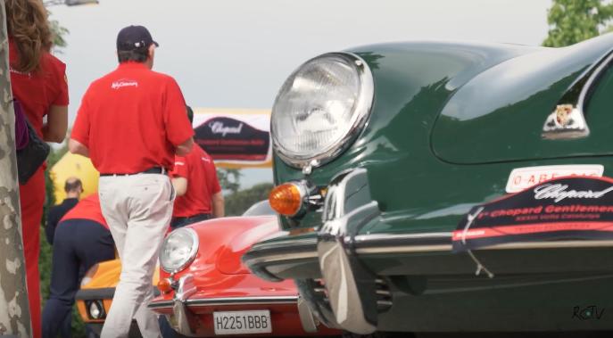 Los vehículos clásicos más exclusivos en el Chopard Rally