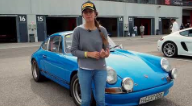 Carla Marcó in the Porsche Classic Series of Navarra