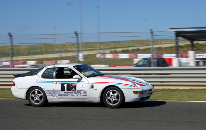 Las 'Porsche Classic Series' aterrizan en el circuito del Jarama