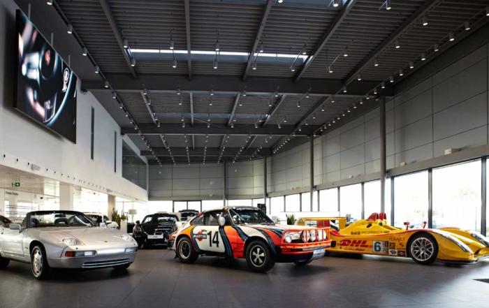 Porsche Experience RallyClassics' style