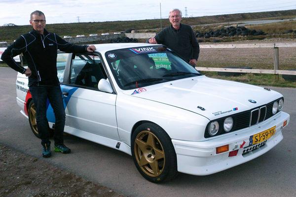 Valter Jensen und Erik Pedersen, aus Norwegen an die Costa Brava