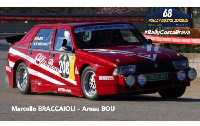 Une 75 IMSA sur le Rally Costa Brava