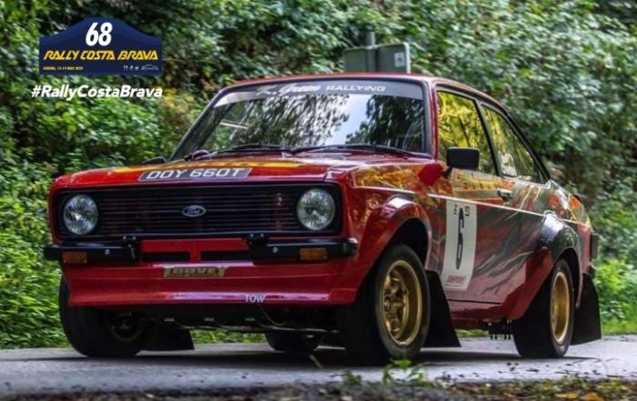 "The pilot Kalvin Green will bring his ""Escort"" to the Rally Costa Brava"