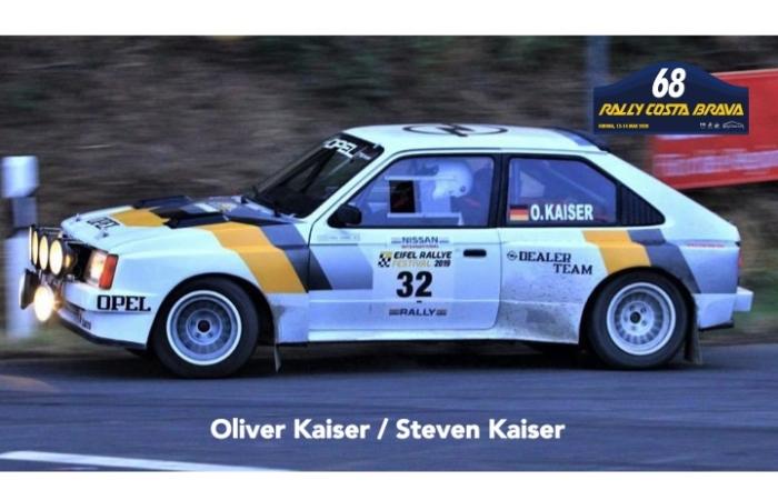 Les Kaiser seront également présents au Rally Costa Brava 2020