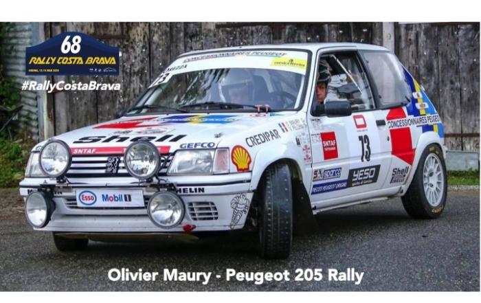 """Un """"205 Rally"""" 100% francés, en el Rally más antiguo de España"""