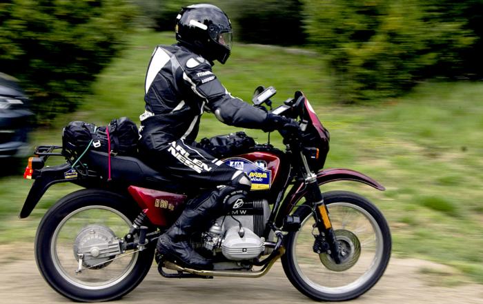 Auch die Motorräder kommen zur XVII. Rally Costa Brava Històric