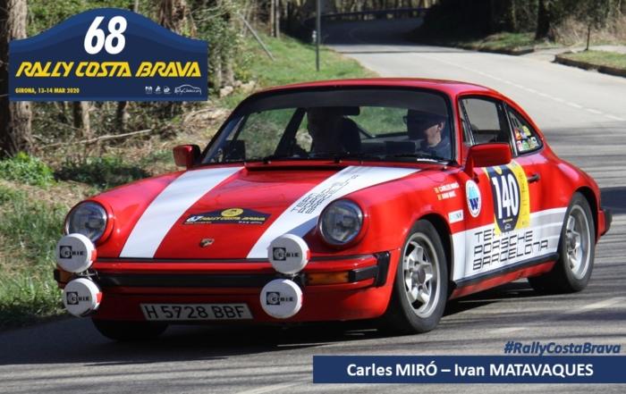 Miró i Matavaques tornen al Rally Costa Brava