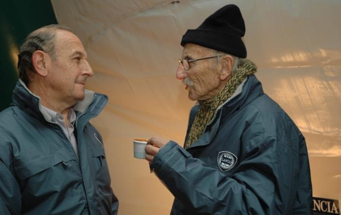 Papi Bäbler i Berto Vidal, dos homes bons