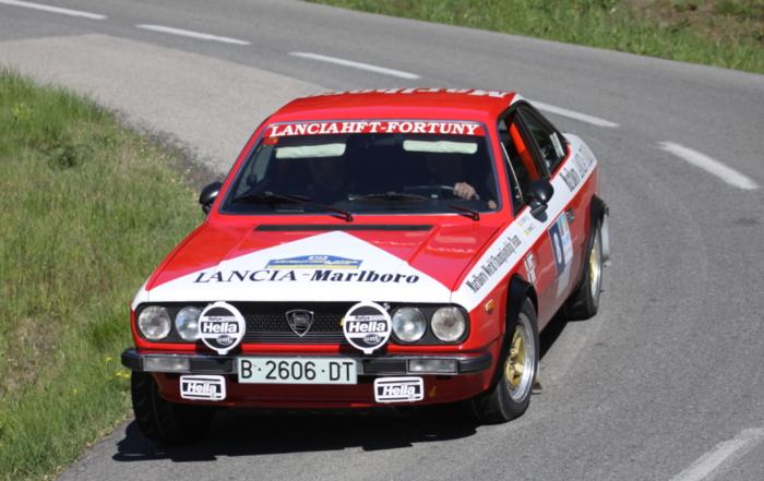 Wir lassen die XVI. Rally Costa Brava Històric Revue passieren