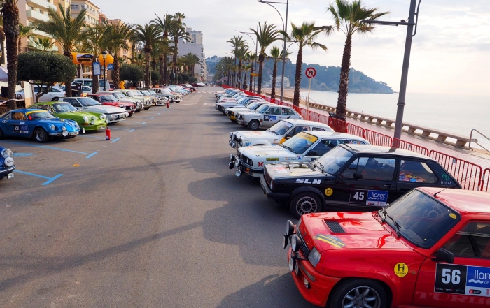 LLORET DE MAR AND THE RALLY COSTA BRAVA, ADMIRED FROM ABROAD