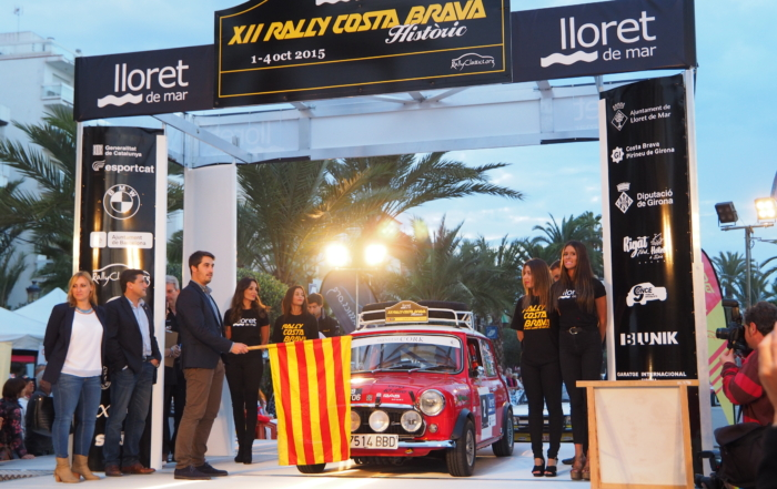 Palamós, the new home of the Rally Costa Brava Històric
