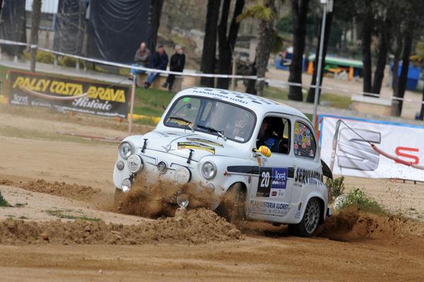 Palamós se vuelca en el XIV Rally Costa Brava Històric