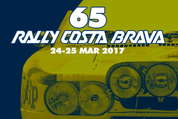 Nueva fecha para el 65 Rally Costa Brava