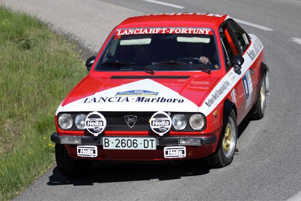 Fortuny-Jiménez (Lancia), líderes del XIV Rally Costa Brava Històric