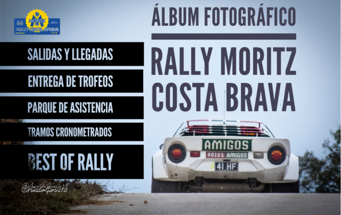 Álbum fotográfico 66 Rally Moritz Costa Brava
