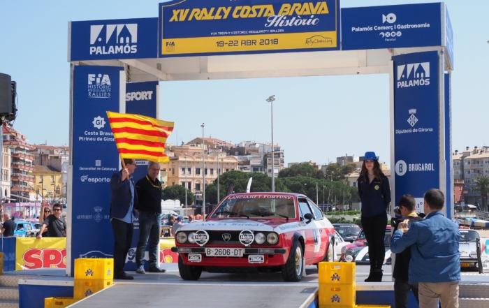 Arranca el XV Rally Costa Brava Històric