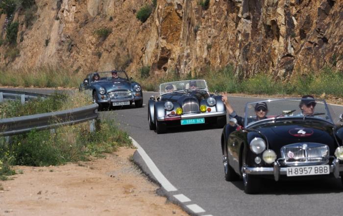 Continúa la diversión con la segunda Etapa del Chopard Gentlemen Rally