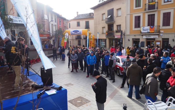 Rallye d'Hivern, start of the season in Viladrau