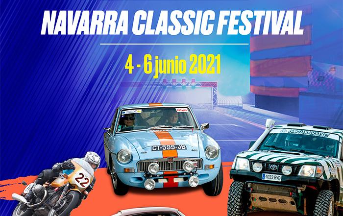 Anunciamos el cartel y los horarios del Navarra Classic Festival 2021