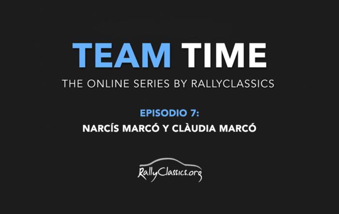 TEAM TIME // Episodio 7: Narcís Marcó y Clàudia Marcó