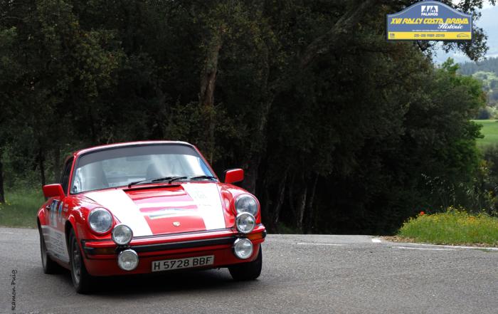 El Rally Costa Brava Històric de otoño