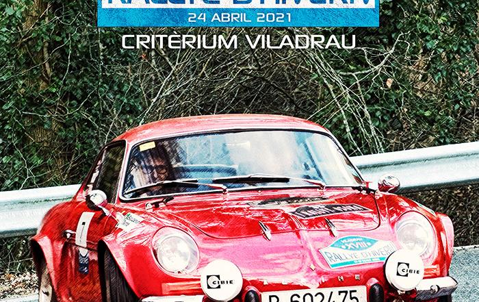 La situación sanitaria obliga a aplazar el XIX Rallye d'Hivern al 24 de abril