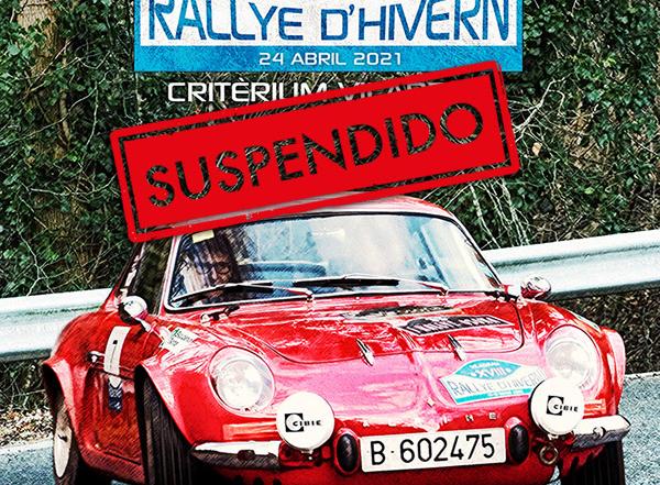 Las nuevas restricciones de movilidad obligan a suspender el XIX Rallye d'Hivern