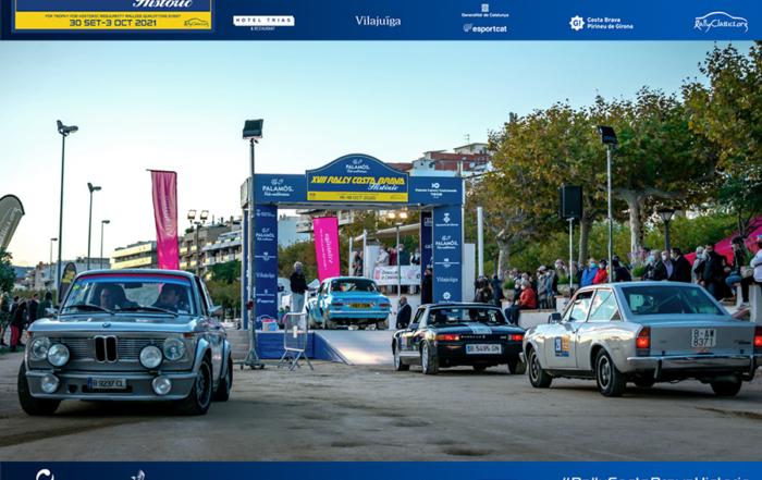 Todo listo para el XVIII Rally Costa Brava Històric