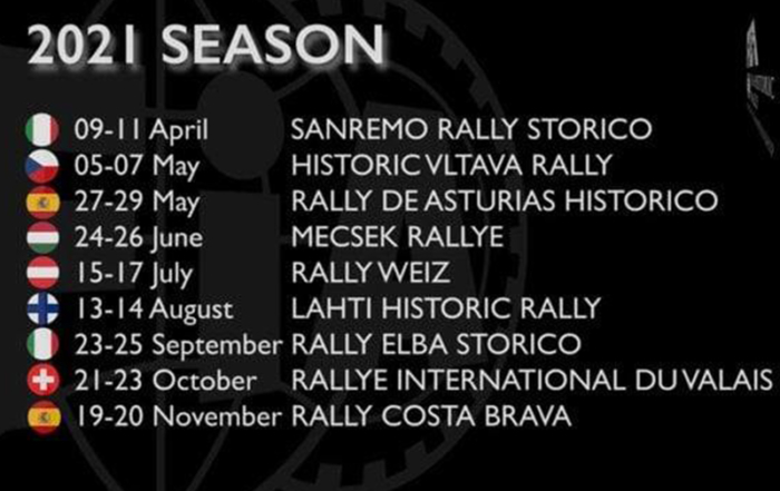 The FIA ​​ratifies the date of the 69 Rally Costa Brava